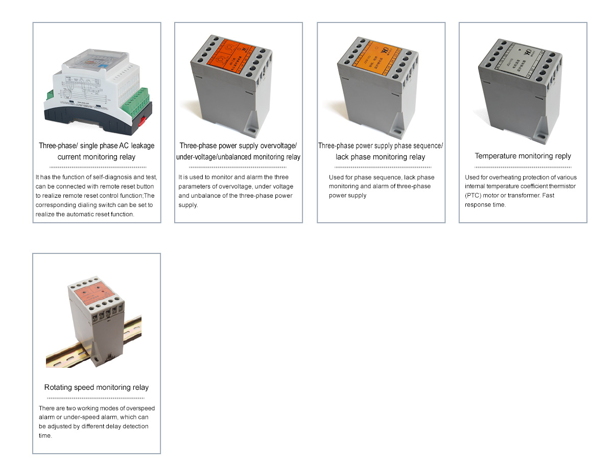 Protection Relay Dechang Electronic Coltd Current Alarm 800 1700